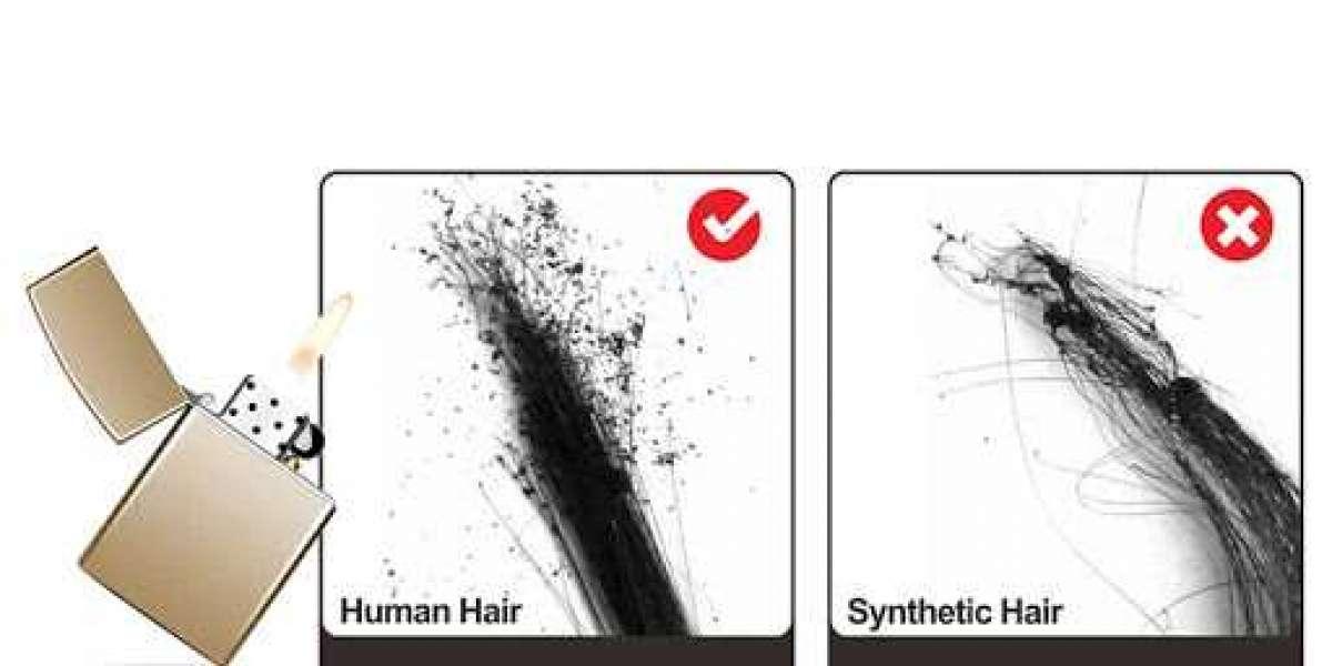 100% Human Hair vs Synthetic Hair